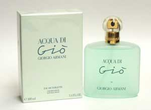 Acqua Di Gio by Giorgio Armani for Women 3.4 oz