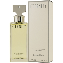 Eternity by Calvin Klen for Women 3.4 oz