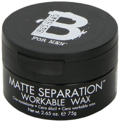 Bed Head by Tigi Matte 2.65 oz Separation Workable Wax for men