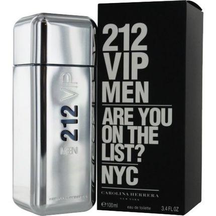 212 VIP by Carolina Herrera 3.4 oz EDT for men