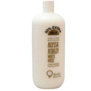 Alyssa Ashley White Musk by Alyssa Ashley 25.5 oz Hand and Body Lotion for women