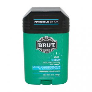 Brut Anti-Perspirant & Deodorant Original Scent by Faberge 2 oz Deodorant for men
