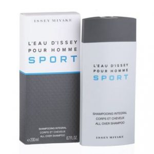 L'eau D'Issey Pour Homme Sport by Issey Miyake 6.7 oz All Over Shampoo for men