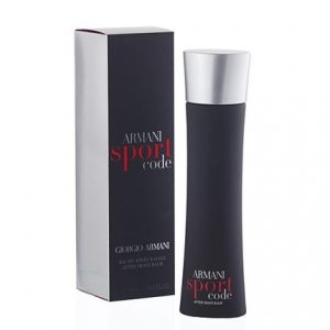 Armani Code Sport by Giorgio Armani 3.4 oz After Shave Balm for men