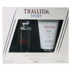 Thallium Sport by Yves de Sistelle 2pc Gift Set EDT 3.3 oz + Shower Gel 3.3 oz for Men