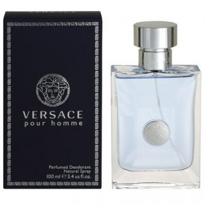 Versace Pour Homme by Versace 3.4 oz Perfumed Deodorant Spray for men