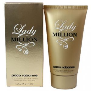 Lady Million by Paco Rabanne 5.1 oz Sensual Body Lotion for women