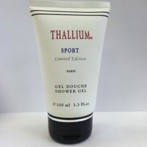 Thallium Sport by Yves de Sistelle 3.3 oz Shower Gel for Men