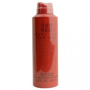360 Red for Men by Perry Ellis 6.8 oz Deodorant Body Spray for Men