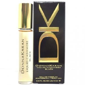DK Liquid Cashmere Black by Donna Karan 0.34 oz EDP Rollerball for Women