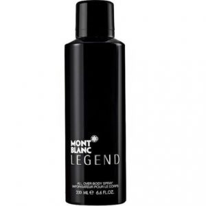 Mont Blanc Legend by Mont Blanc 6.6 oz All Over Body Spray for Men