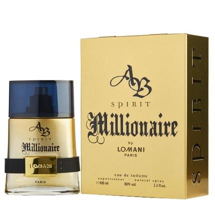 Ab Spirit Millionaire by Lomani 3.4 oz EDT for men