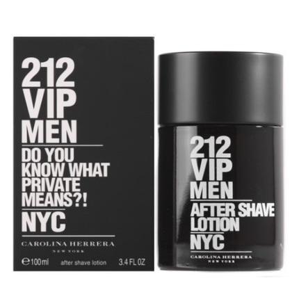 212 VIP Men by Carolina Herrera 3.4 oz After Shave for Men