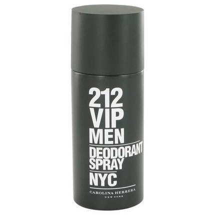 212 VIP by Carolina Herrera 5.1 oz Deodorant Spray for men