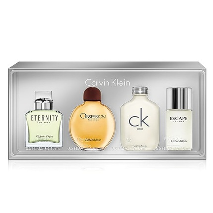 4pc Mini Gift Set by Calvin Klein ~ Eternity + Obsession + Ck One + Escape for Men