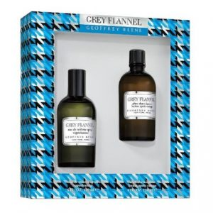 Grey Flannel by Geoffrey Beene 2pc Gift Set EDT 4 oz + Aftershave 4 oz for Men