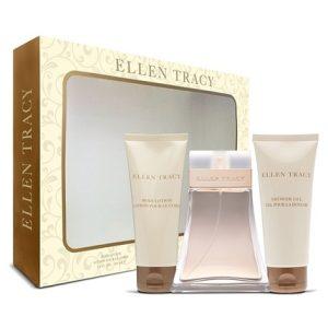 Ellen Tracy by Ellen Tracy 3pc Gift Set EDP 3.4 oz + Shower Gel 3.4 oz + Body Lotion 3.4 oz for Women
