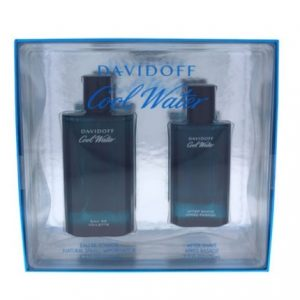 Cool Water by Davidoff 2pc Gift Set EDT 4.2 oz + After Shave 2.5 oz for Men