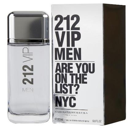 212 VIP by Carolina Herrera 6.8 oz EDT for men