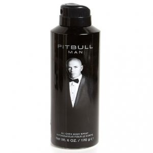 Pitbull Man by Pitbull 6 oz All Over Body Spray for Men