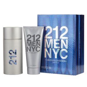 212 by Carolina Herrera 2pc Gift Set EDT 3.4 oz + After Shave Gel 3.4 oz