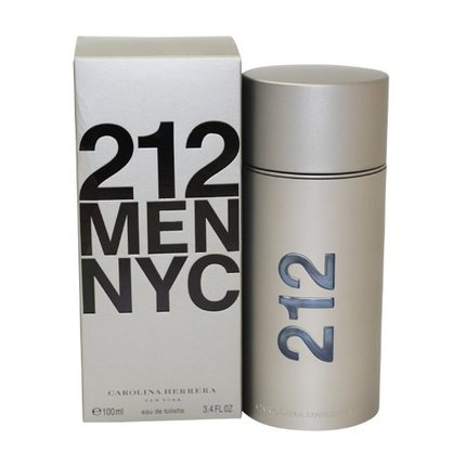 212 by Carolina Herrera 3.4 oz EDT for men