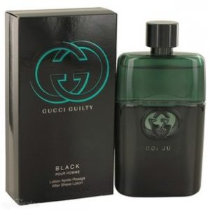 Gucci Guilty Black by Gucci 3.0 oz After Shave Lotion for men